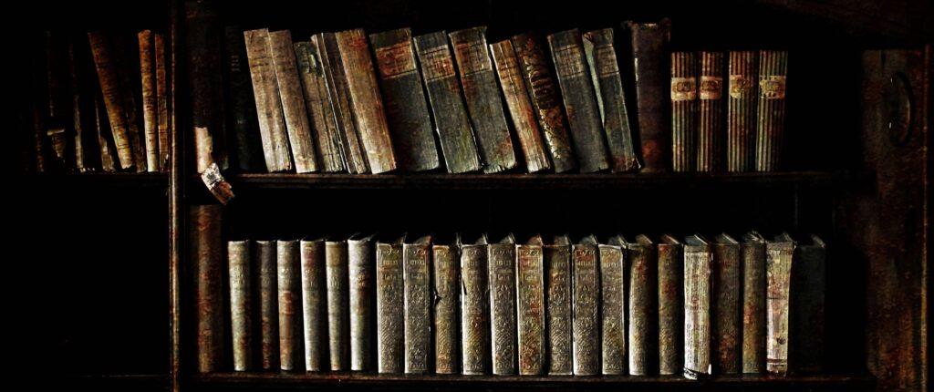 """Frammento della foto """"Libri e dintorni"""" di Raffaele Corte"""